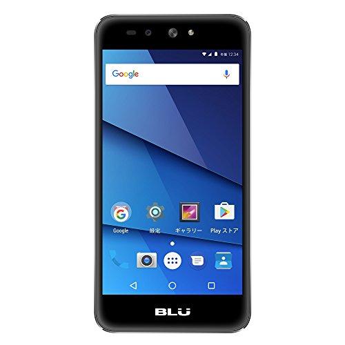 BLU(ブルー)GRAND X LTE SIMフリースマートフォン ブラック 【日本正規代理店品】 G0010JJ/BLA-38