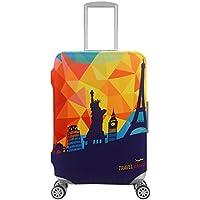 スーツケースカバー キャリーカバー ラゲッジカバー 伸縮素材 キズから保護
