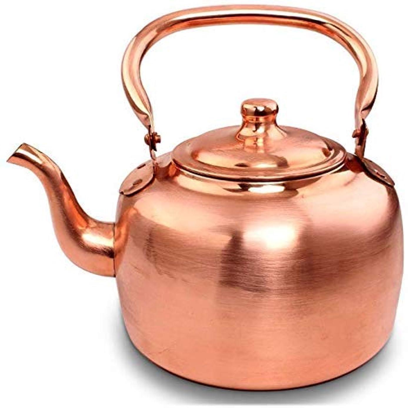 計算可能分散合図YASE-king 昔ながらの銅釜、純銅釜、真鍮の銅の鍋、大容量の鍋、スープ、銅の鍋、肥厚