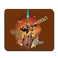 CafePress ガーディアンズ・オブ・ギャラクシー ロケットとグルート ノンスリップゴムマウスパッド ゲーミングマウスパッド