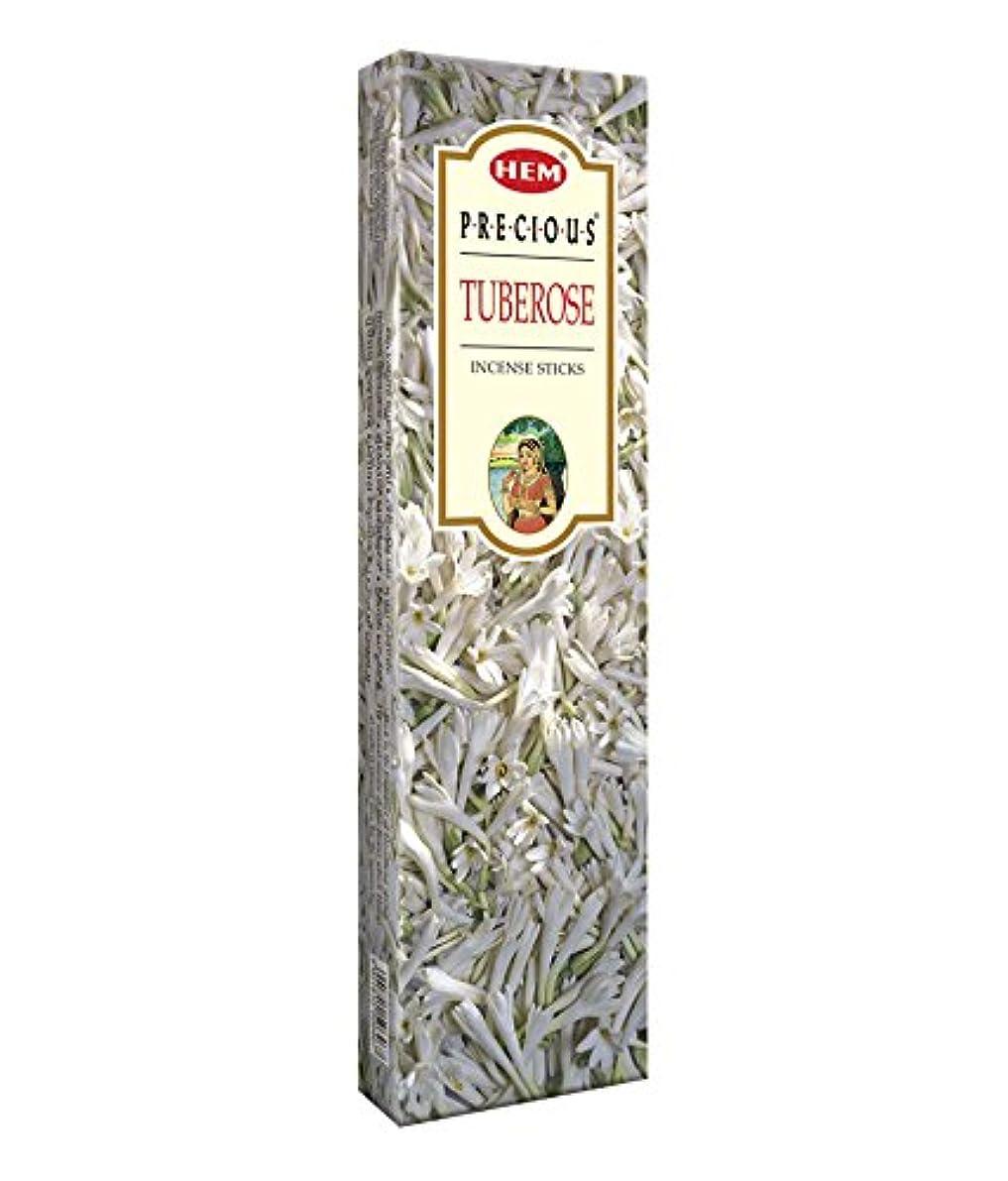 設計シングル普通のAgarbathi Fragrance Hem Precious Tuberose 100 g INCENSE STICKS