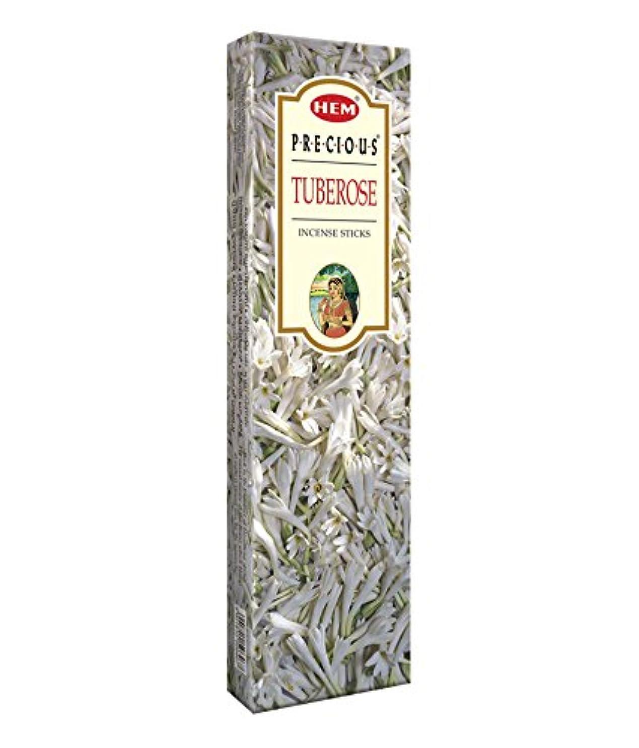 気分が悪い願う速いAgarbathi Fragrance Hem Precious Tuberose 100 g INCENSE STICKS