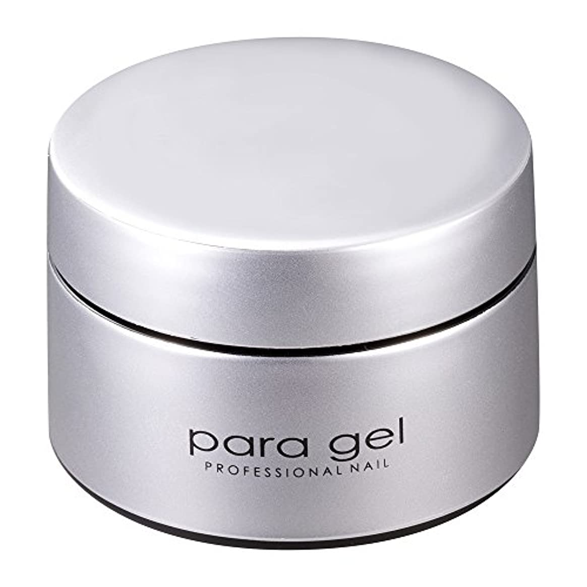枝弾薬プロフェッショナルpara gel カラージェル S007 ミストホワイト 4g