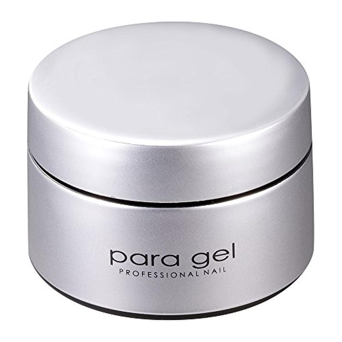 プラスブラシ知覚できるpara gel カラージェル S007 ミストホワイト 4g