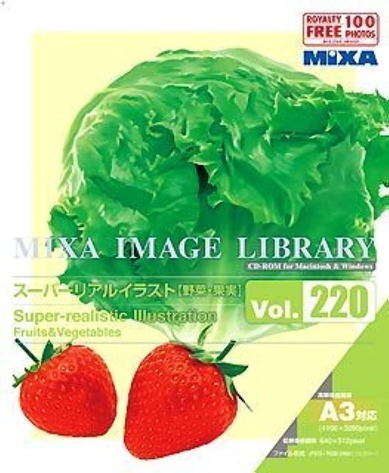 ヒール排泄物夜明けMIXA Image Library Vol.220 スーパーリアルイラスト 野菜?果実