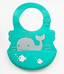 ✅ 高品質防水性 よだれかけ ‐ 柔らかくて、便利、お手入れ簡単!赤ちゃん、お子様が汚しても、すぐにきれいにできます!