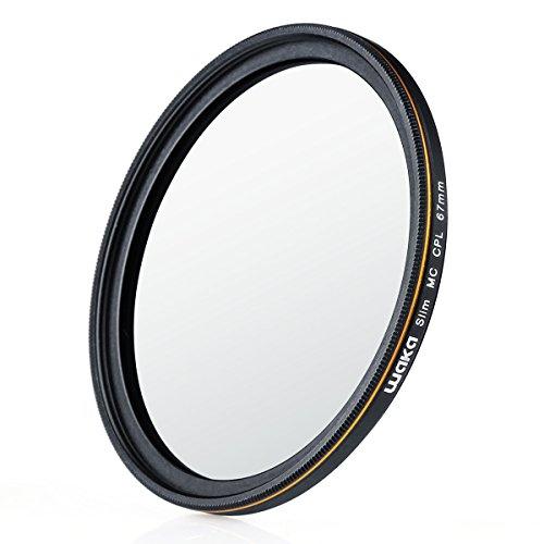 67mm CPL 円偏光フィルター ウルトラスリム 16層多層加工 風景撮影用 Canon Nikon Sony対応