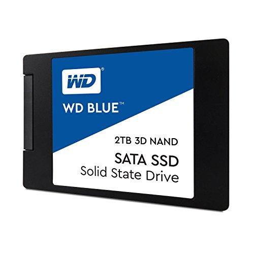 WD 内蔵SSD 2.5インチ / 2TB / WD Blue 3D / SATA3.0 / 5年保証 / WDS200T2B0A