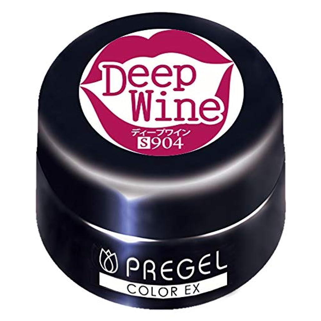 遅いお誕生日カニPRE GEL カラーEX ディープワイン 3g PG-CE904