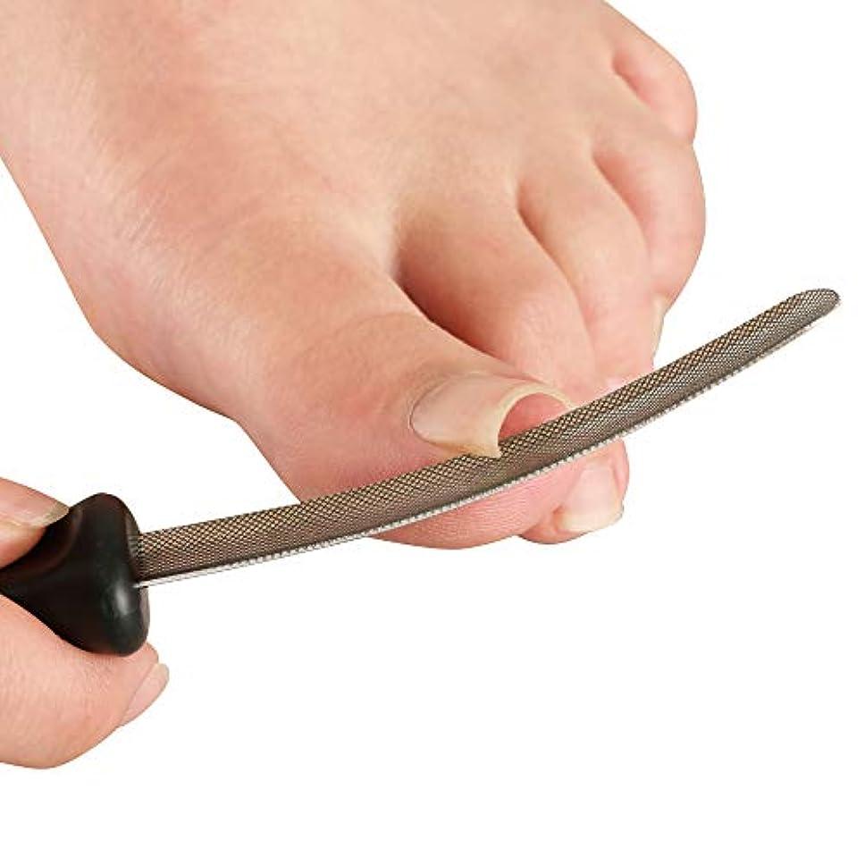 延ばすぞっとするような量で【サイプラス】[プラスウォーク] 巻き爪すき間ヤスリ