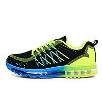 [Sooger] Air エアランニングシューズ スニーカー アウトドア ジョキング スポーツシューズ メンズレディース クッション靴 全気クッション クッション ランニングエアシューズ 通気網靴 ショック靴 ジョキング スポーツシューズ靴