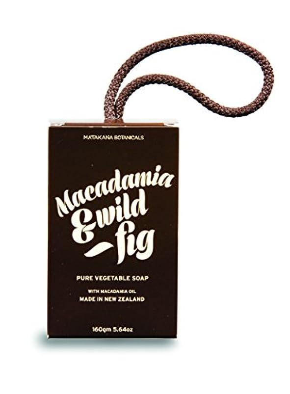 グレートバリアリーフ便利メナジェリーMB(マタカナボタニカルズ) マカダミア&ワイルドフィグ ピュアベジタブルソープ