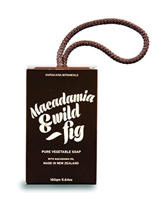 食品めまい無数のMB(マタカナボタニカルズ) マカダミア&ワイルドフィグ ピュアベジタブルソープ
