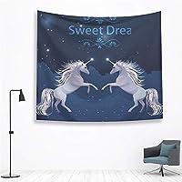 マンダラ壁掛けタペストリーボヘミアン農家の装飾壁布 by TomgJumgTJ (Color : Unicorn tapestry 1, サイズ : 2000 MMX1500 MM)