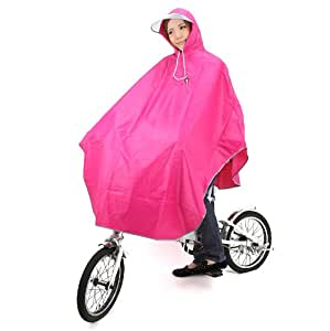Amagoo (アマグー) レインポンチョ 自転車用 フリーサイズ ピンク