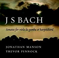J. S. Bach: Sonatas for Viola da Gamba by Trevor Pinnock (2007-02-12)