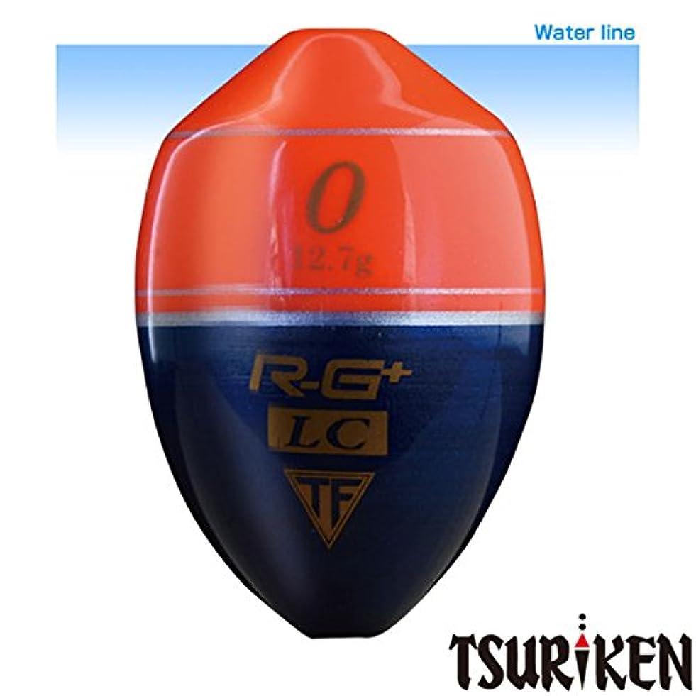 フィールド幸運な中間釣研(TSURIKEN) ウキ R-G+ LC スカーレット 00号