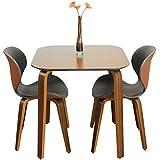 【3点セット】カフェスタイル風ダイニングセット テーブル1台×チェア2脚 70.5cm bocca ボッカ