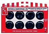 AMT 1/25 M&H レースマスター ジャンボ ドラッグスター スリックタイヤセット プラスチックモデルキット ディティールアップパーツ 1パック8個入り  AMTPP003
