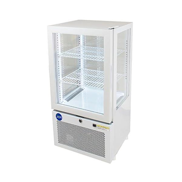 4面ガラス冷蔵ショーケース【JCMS-58】 ...の紹介画像2