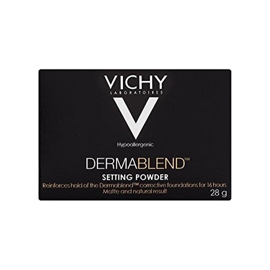 同封する回答サイレントヴィシー設定粉末28グラム x4 - Vichy Dermablend Setting Powder 28g (Pack of 4) [並行輸入品]