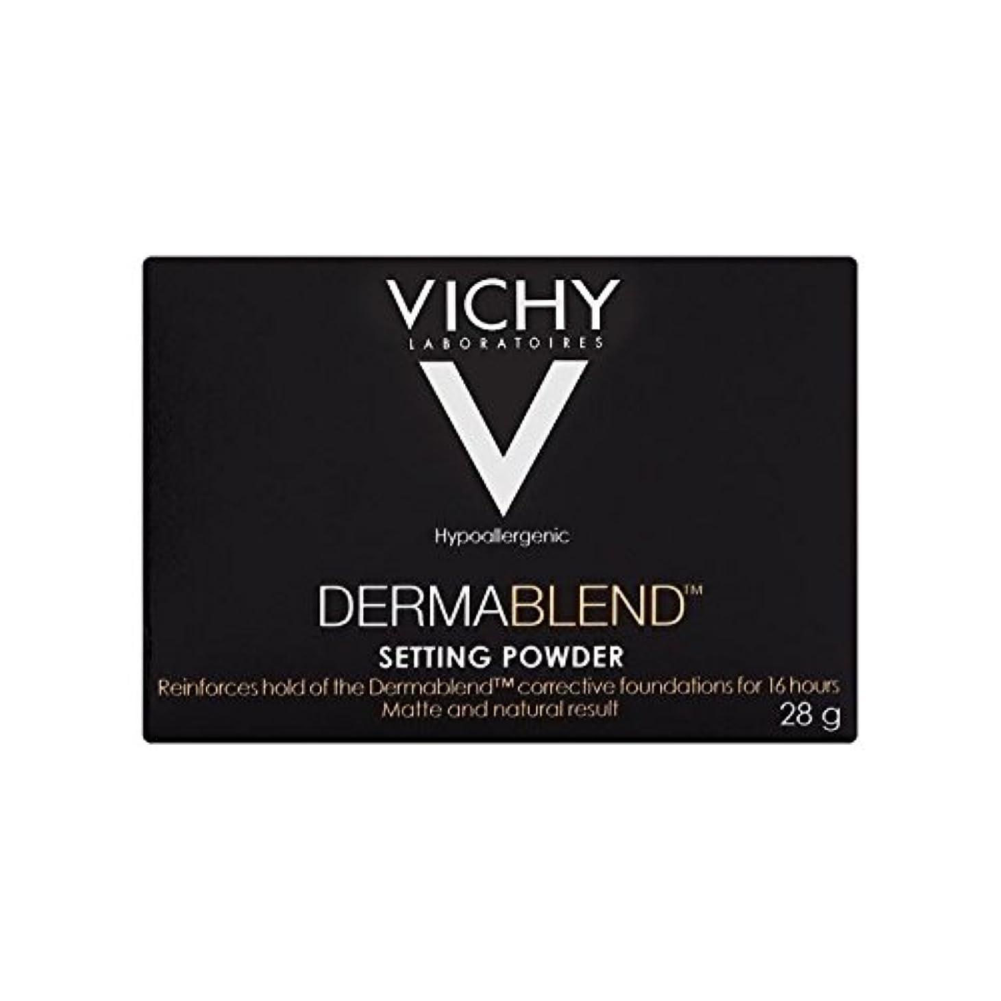 鮫アプライアンスシロクマヴィシー設定粉末28グラム x4 - Vichy Dermablend Setting Powder 28g (Pack of 4) [並行輸入品]