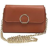(ザマーベト) Misimlar レディース 日常生活 カジュアル バッグ 磁石 PUの皮 ショルダーハンドバッグ