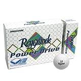 BRIDGESTONE ブリヂストン Reygrande レイグランデ パワードライブ ゴルフボール 1ダース ホワイト