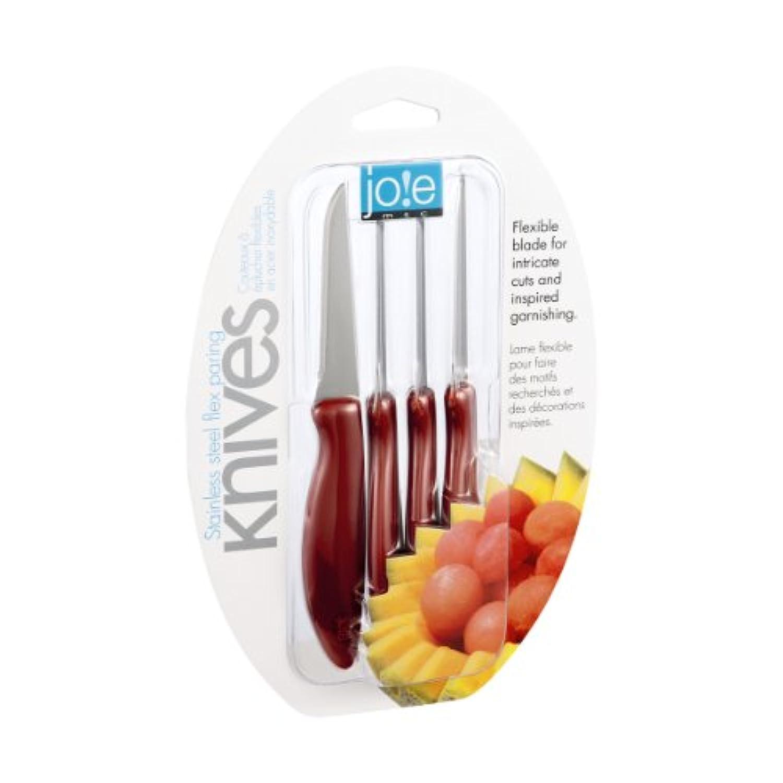 ジョー?MSCステンレススチールフレックス果物ナイフ – 4 ct