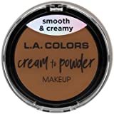 (3 Pack) L.A. COLORS Cream To Powder Foundation - Tan (並行輸入品)