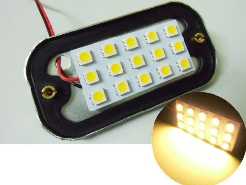 24V 角マーカーランプ用LED15SMD 電球色/サイドマーカー LED電球 旧車 トラック デコトラ