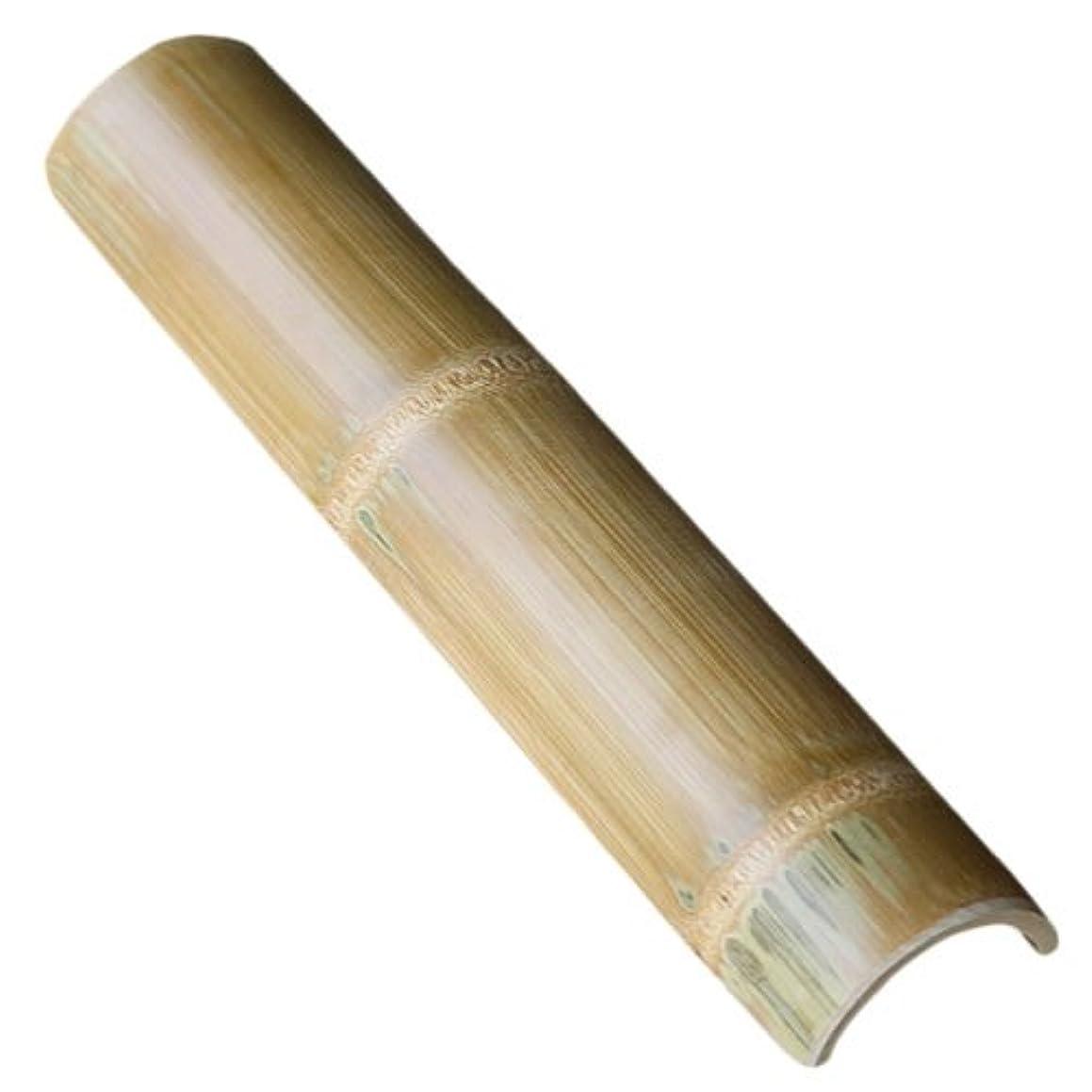 クラック打撃白菜【国産】炭化竹踏み 青竹を炭化加工して防虫、防カビ効果を向上させて美しく磨き上げた丈夫な二節付の竹踏み