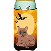 Carolines Treasures BB4458TBC Halloween Tonkinese Cat Tall Boy Beverage Insulator Hugger