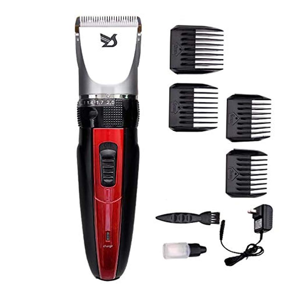 週間表面全体男性用バリカン、男性子供と家族のためのプロフェッショナルコードレスヘアートリマー充電式髭トリマーヘアーカットキット