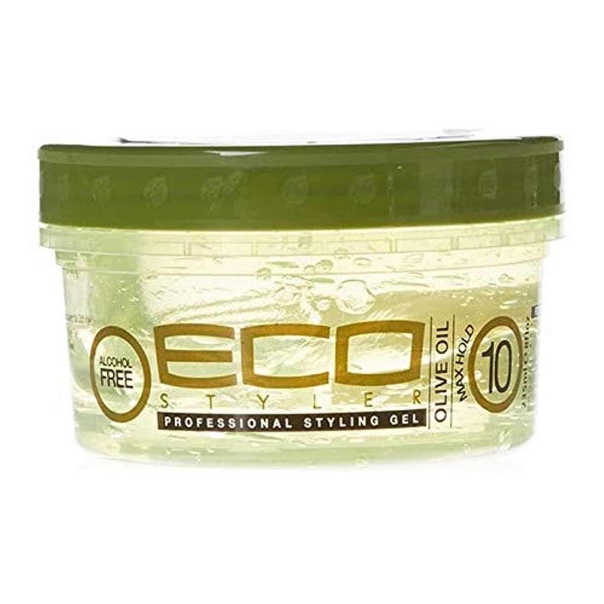 差歯食い違い[ECO STYLER ] エコスタイラオリーブ油スタイリングゲル236ミリリットル - ECO Styler Olive Oil Styling Gel 236ml [並行輸入品]