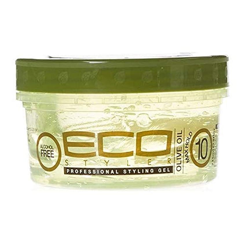 妻申し立てるたっぷり[ECO STYLER ] エコスタイラオリーブ油スタイリングゲル236ミリリットル - ECO Styler Olive Oil Styling Gel 236ml [並行輸入品]