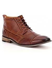 (スティーブ マデン) Steve Madden メンズ シューズ?靴 ブーツ Jabbar Cap Toe Chukka Boots [並行輸入品]