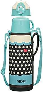 サーモス 水筒 真空断熱2WAYボトル 1.0L ドットブルー FFR-1004WF D-BL