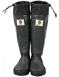 [日本野鳥の会] レインブーツ 梅雨 バードウォッチング 長靴 折りたたみ 新色! bw-47927 bw-47927