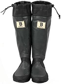 [日本野鳥の会] レインブーツ 梅雨 バードウォッチング 長靴 折りたたみ 新色! bw-47927 SS(23.0cm) グレー bw-47927-GRY-SS