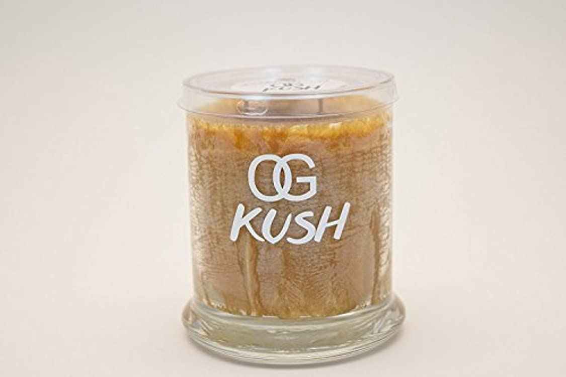 Og Kush Scented Candle Regular、M、ジャンボ M OGKPALM10OZ
