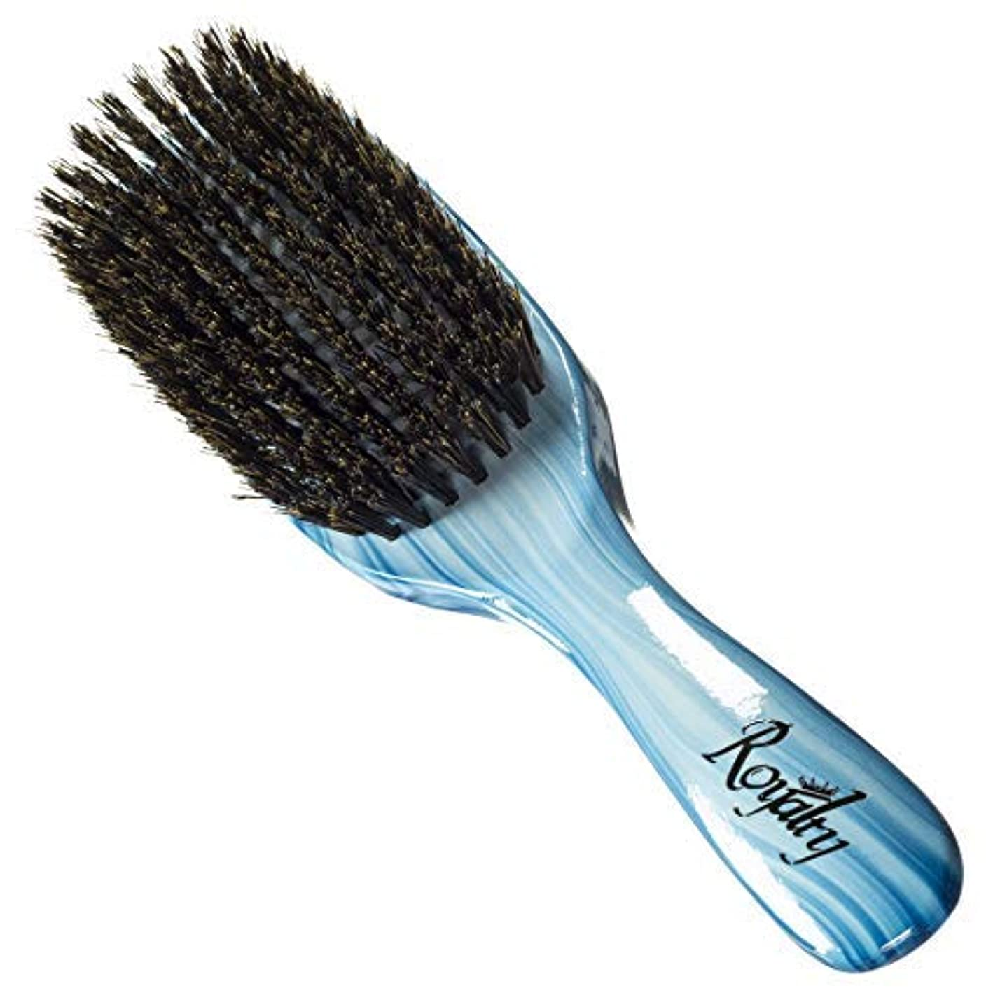 リス遅滞個人的なRoyalty By Brush King Wave Brush #912-9 Row Medium - Great pull - From the maker of Torino Pro 360 waves brushes [並行輸入品]