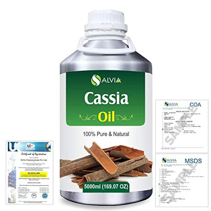 ミッション早める応用Cassia (Cassia fistula) 100% Natural Pure Essential Oil 5000ml/169fl.oz.