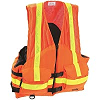 M、ANSI Hi - Vizオレンジ、3 mª scotchliteª 6187、ANSIクラス2 WorkゾーンGear Vests