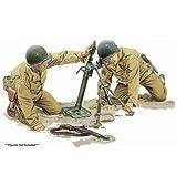 プラッツ 1/6 第二次世界大戦 アメリカ軍M2 60mm迫撃砲&M1ガーランド プラモデル CH75024