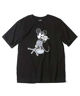 [N] Tシャツ NWD020 メンズ BLACKxN(N) 日本 2-(日本サイズS相当)