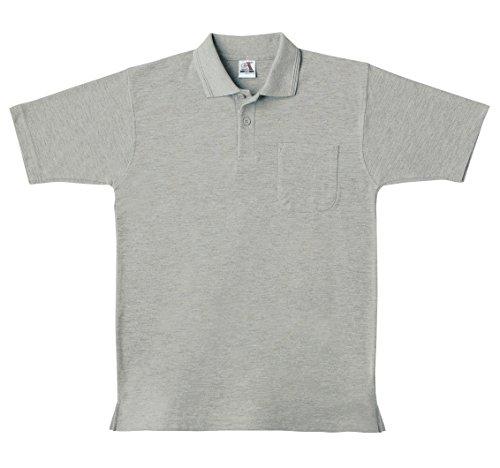 SOWA(ソーワ) 半袖ポロシャツ(胸ポケット有り) モクグ...
