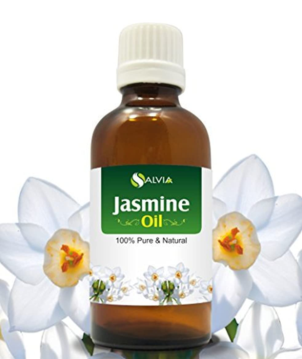 スーダン封建語JASMINE OIL 100% NATURAL PURE UNDILUTED UNCUT ESSENTIAL OILS 30ml by SALVIA