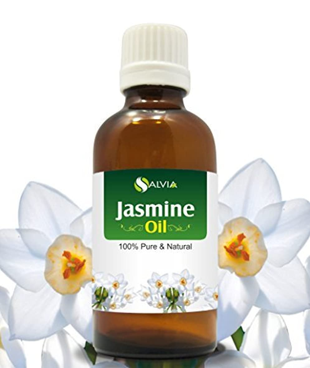 天才錫年金受給者JASMINE OIL 100% NATURAL PURE UNDILUTED UNCUT ESSENTIAL OILS 30ml by SALVIA