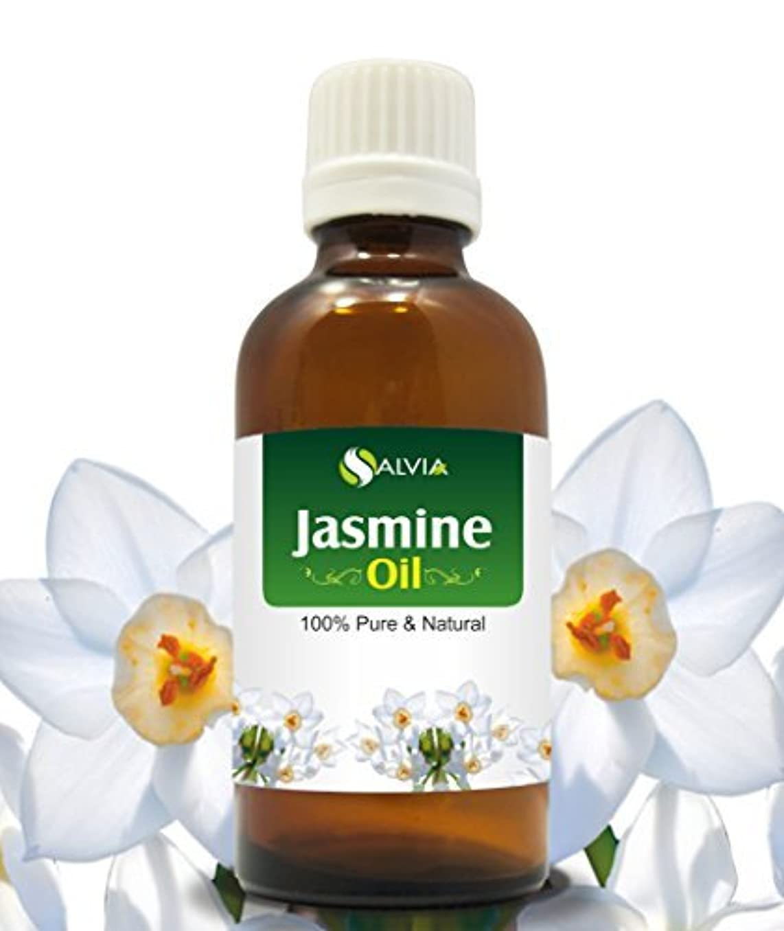 ニコチンウィンク言うJASMINE OIL 100% NATURAL PURE UNDILUTED UNCUT ESSENTIAL OILS 30ml by SALVIA